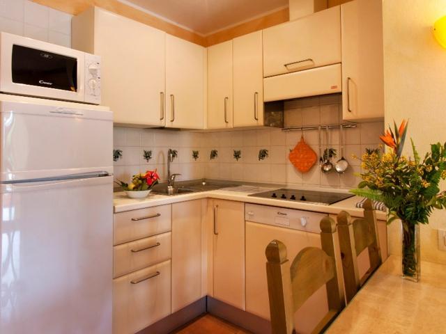 Ieder appartement is voorzien van een keukentje - Lantana Resort