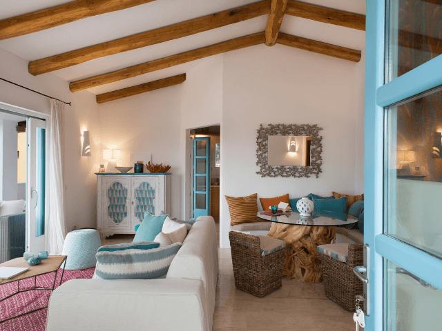 romantica appartement san pantaleo sardinie