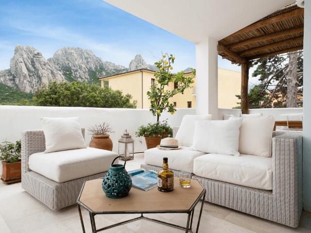 Appartement Romantica in San Pantaleo - Sardinië