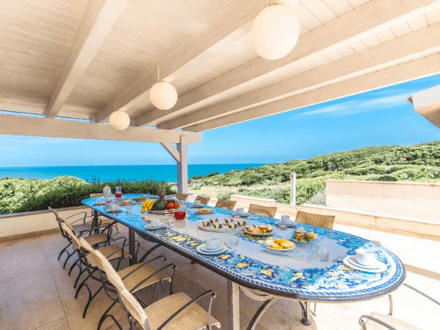 Groot huis Sardinie