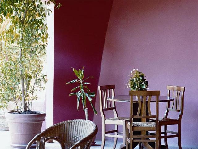 Veranda - Hotel Il Vecchio Mulino - Arbatax -  Sardinië