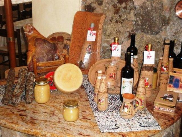 Sardische produkten - Hotel Funtana Abbas - Luras - Sardinië