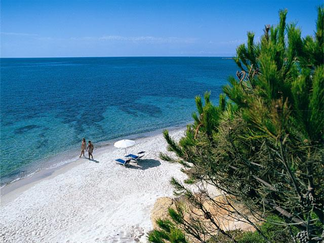 Strand - Is Morus Relais - Santa Margherita di Pula- Sardinië