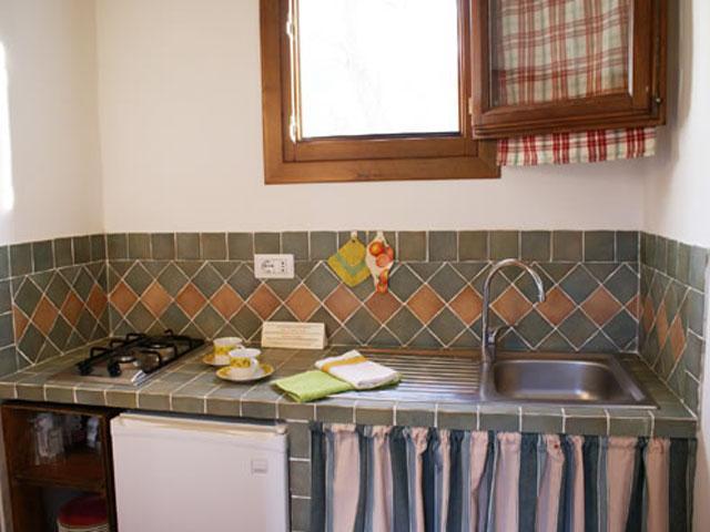Keuken Calla - Agriturismo L'Aglientu - Sardinië