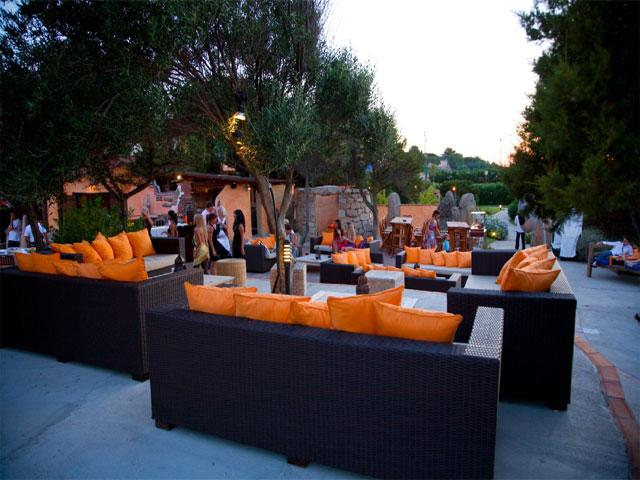 Lounge area - Grand Hotel in Porto Cervo - Sardinië