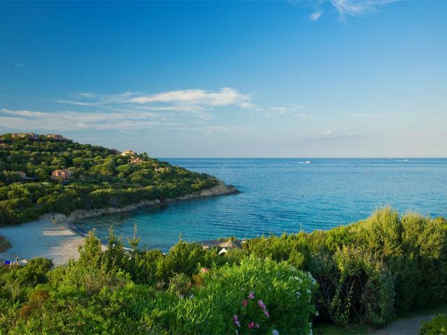 Strand Cala Granu - Porto Cervo - noord Sardinië