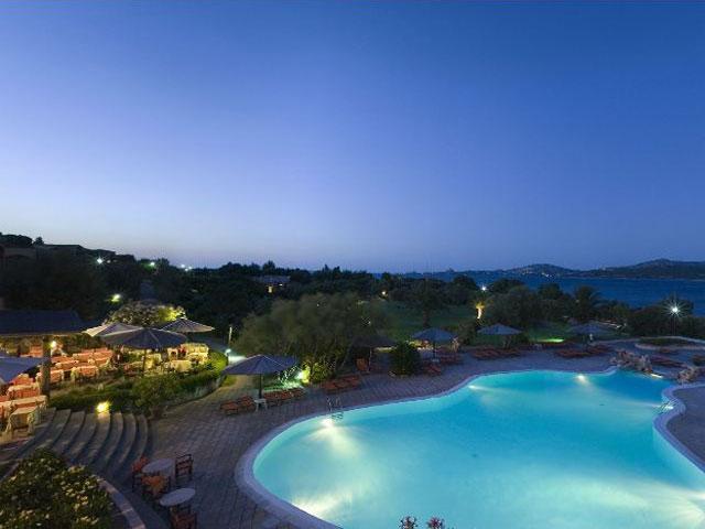 Uitzicht vanuit het restaurant le Terrazze