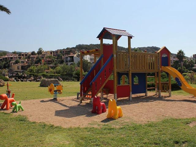 Kidsclub en speeltuin aanwezig op het park Bagaglino