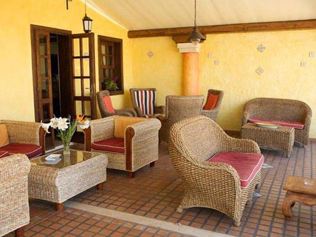 Landelijk interieur in Is Benas Country Hotel - Sardinie