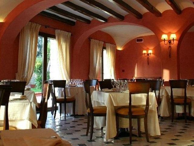 Knusse restaurant van Hotel Sa Contonera