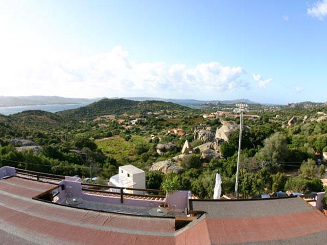 Uitzicht - Hotel Li Graniti - Baja Sardinia - Sardinië