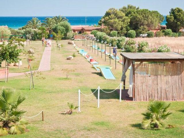 Club Rei Beach - Vakantie appartementen aan zee in het zuiden van Sardinie (4)