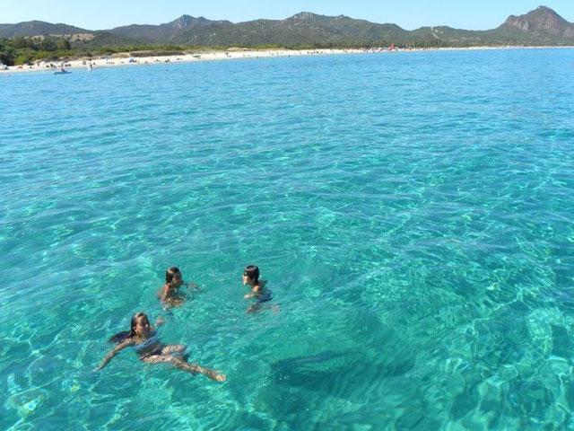 Costa Rei is bekend vanwege de schitterende stranden en helderblauwe zee