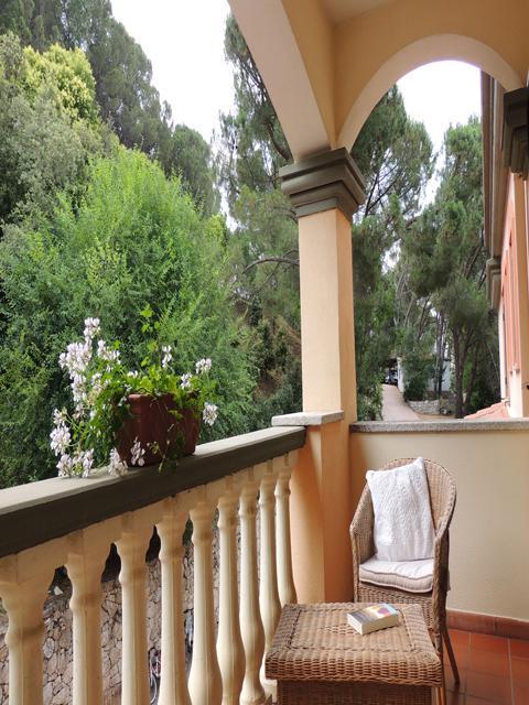 Hotel Su Lithu - terras - sardinie